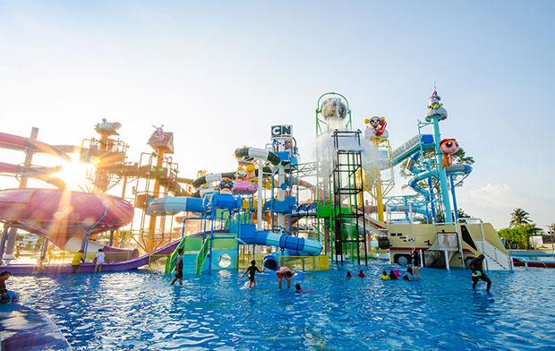สวนน้ำสุดฮอตในเมืองไทย